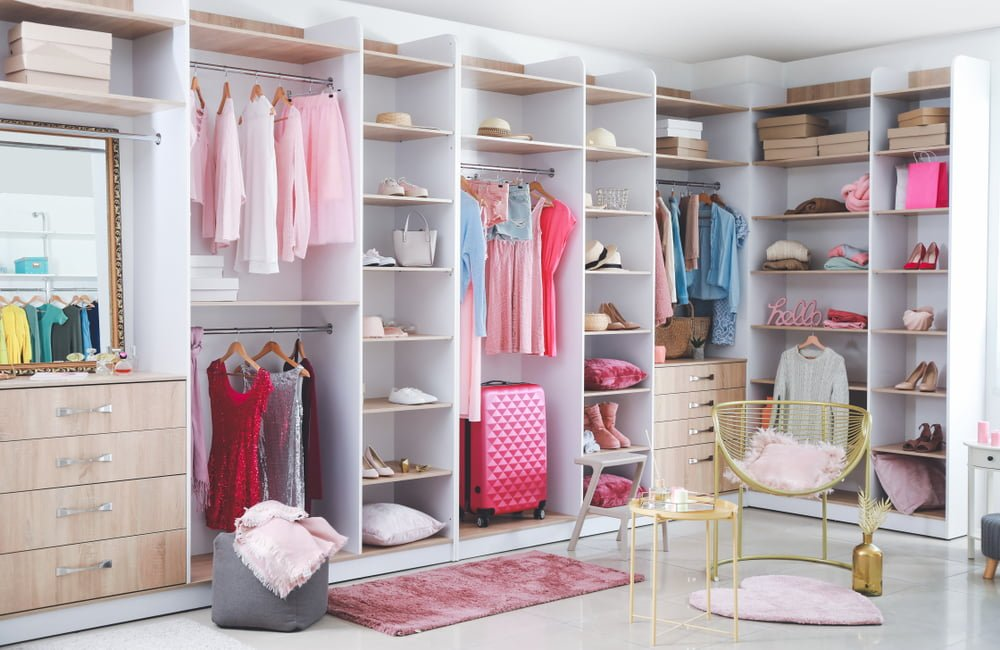 Closets and Other Storage Themes for Small Accessories