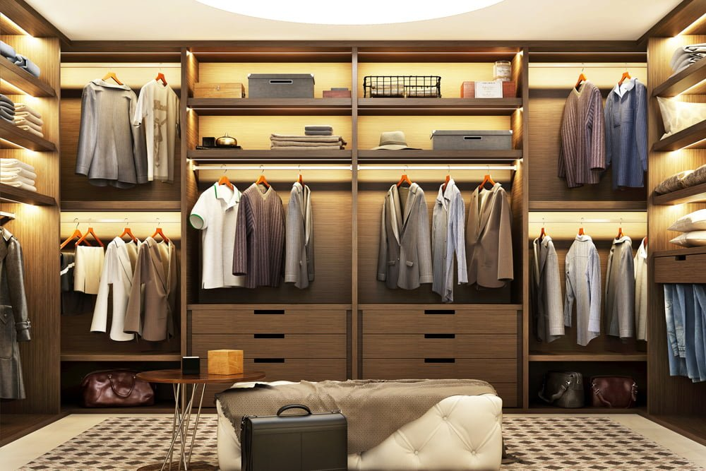 """Designing a Perfect SLC """"Beauty"""" Walk-In Closet"""
