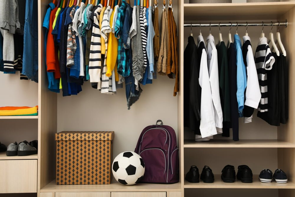 SLC Closet and Organization Themes for Child Back-to-School